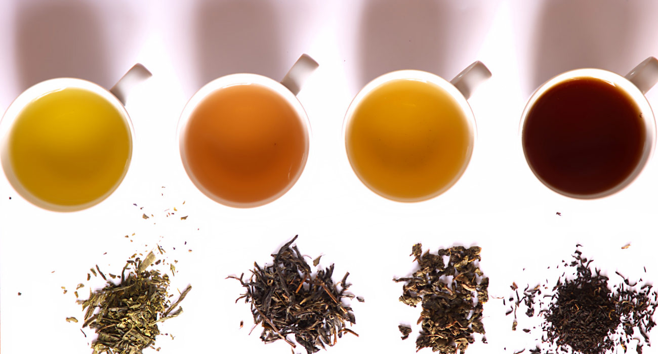 Teas Of Different Colours And Their Benefits